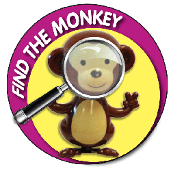 Magnifying Glass Monkey
